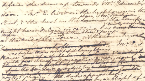 The Watsons – Jane Austen manuscript